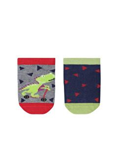 Katia Bony Dinosaur 2 Li Bebek Soket Çorap